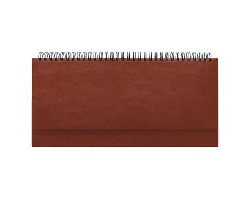 Планинг недатированный Attache Agenda 64 листа коричневый 290х150 мм - (556054К)