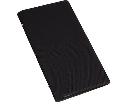 Визитница настольная Attache Selection фактурный PU на 128 визиток черная - (455463К)
