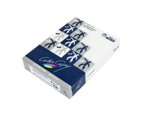 Бумага для цветной лазерной печати Color Copy с покрытием Glossy А4 250 г/кв.м 141% CIE 250 листов - (65194К)