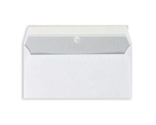 Конверт почтовый Garantpost E65 110x220 мм белый удаляемая лента 1000 штук в упаковке - (76414К)
