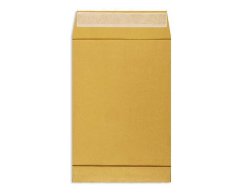 Пакет почтовый Extrapack С4 из крафт-бумаги стрип 229х324 мм 100 г/кв.м 250 штук в упаковке - (76440К)
