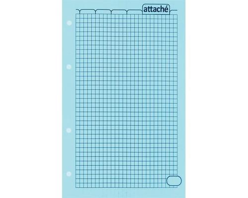 Сменный блок Attache для тетрадей А5 50 листов голубой клетка - (61698К)