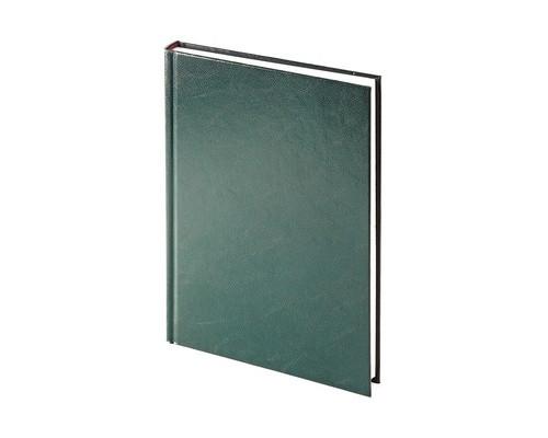 Ежедневник недатированный Альт Ideal твердый переплет А5+ 136 листов зеленый 145х205 мм - (562975К)