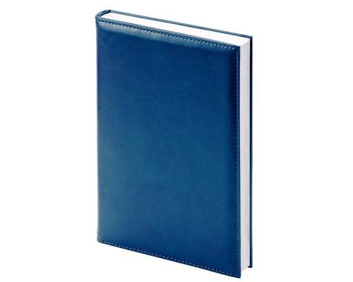 Ежедневник недатированный Attache Agenda искусственная кожа А6 144 листа синий 100х140 мм - (556051К)