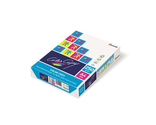 Бумага для цветной лазерной печати Color Copy А4 250 г/кв.м 161% CIE 125 листов - (308203К)