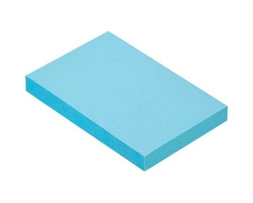 Клейкие листки 51x76 мм голубые пастельные 100 листов - (359814К)