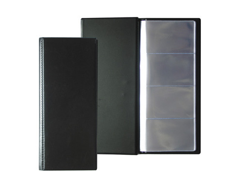 Визитница настольная Attache пластиковая на 96 визиток черная - (107241К)