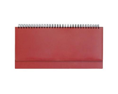 Планинг недатированный Attache Velvet 64 листа красный 290х150 мм - (556037К)