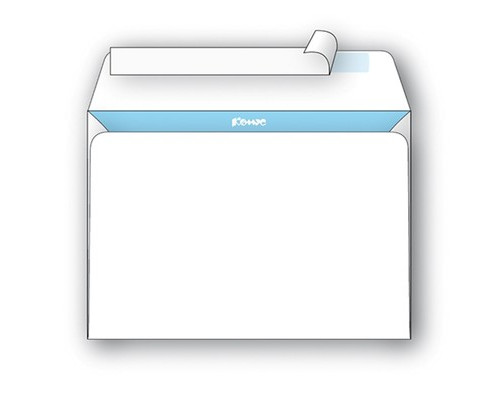 Конверт почтовый BusinessPost C4 229x324 мм белый удаляемая лента 25 штук в упаковке - (66311К)