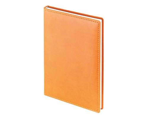 Ежедневник недатированный Attache Velvet искусственная кожа А5 160 листов оранжевый 140х200 мм - (556034К)