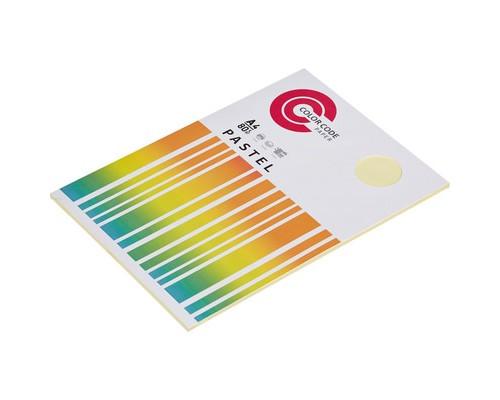 Бумага цветная ColorCode Pastel А4 желтая 80 г/кв.м 50 листов - (473342К)