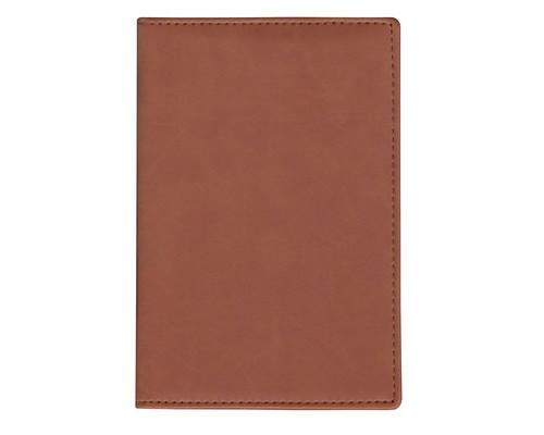 Визитница настольная Attache Вива на 72 визитки искусственная кожа А5 коричневый 133х202 мм - (559207К)