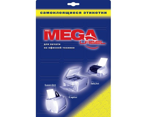 Этикетки самоклеящиеся ProMega Label белые 70х35 мм 24 штуки на листе А4, 25 листов в упаковке - (75204К)
