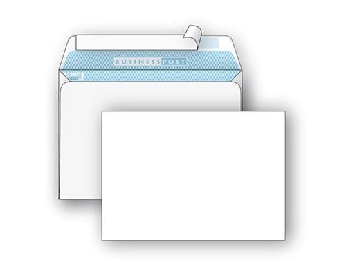 Конверт почтовый BusinessPost C5 162x229 мм белый удаляемая лента 1000 штук в упаковке - (76404К)
