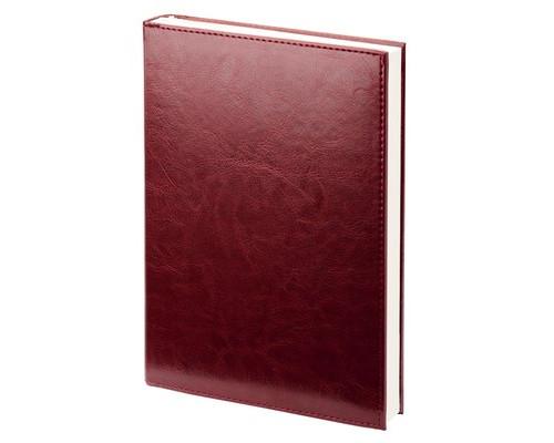 Ежедневник недатированный Attache Agenda искусственная кожа А6 144 листа бордовый 100х140 мм - (556052К)