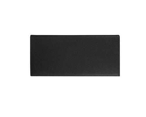 Планинг недатированный Alba натуральная кожа 60 листов черный 120х320 мм - (479649К)