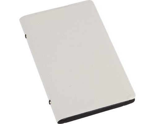 Визитница настольная Attache Selection фактурный PU на 96 визиток белая - (455461К)