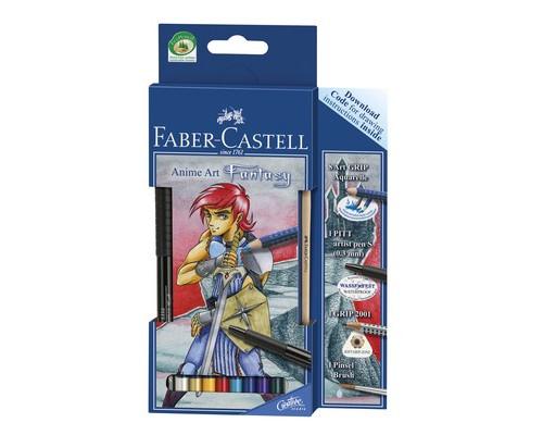 Карандаши акварельные Faber-Castell Art Grip Aquarelle Фантазия 114484