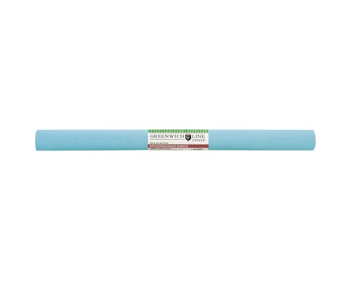 Бумага для творчества креповая,50х250см,32г/м2,бирюзовая,CR25088