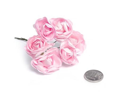 Скрапбукинг цветы бумажные, 6шт., MG.PF29.9