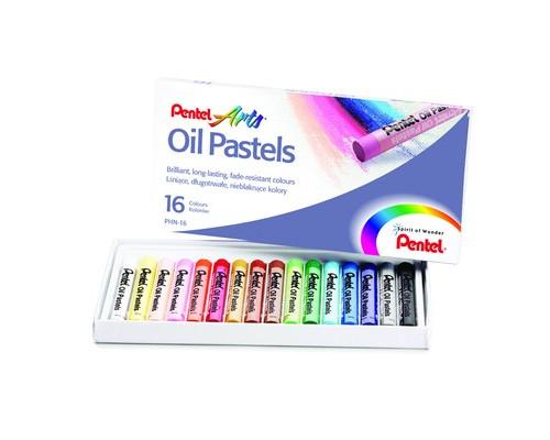 Пастель Pentel 16 цв масляная PHN4-16