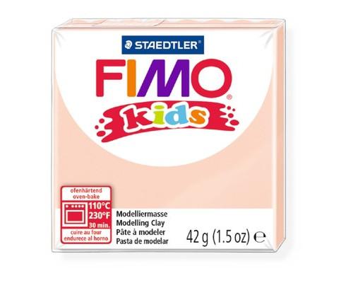 Глина полимерная телесная, 42гр,FIMO,kids,8030-43