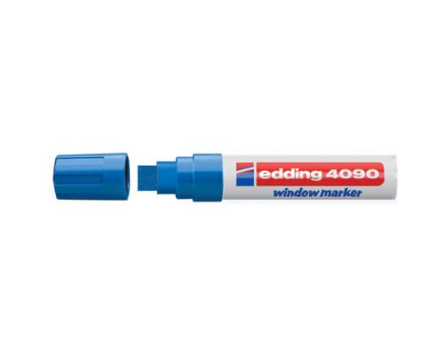 Маркер для окон EDDING E-4090/003 4-15мм (декоративный) синий