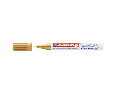 Маркер для декорирования Edding E-4040, золотой_053