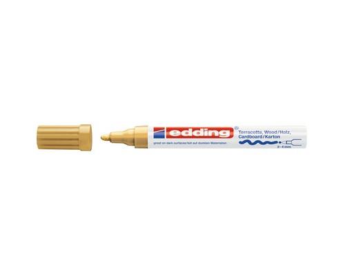 Маркер для декорирования Edding E-4000, золотой_053