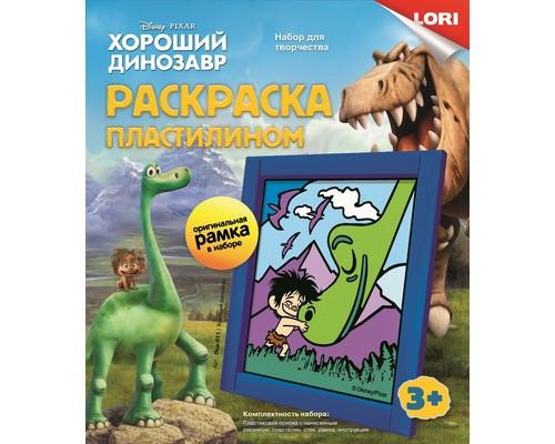 Набор для творчества Картина из пластилина Хороший Динозавр Пкд-011