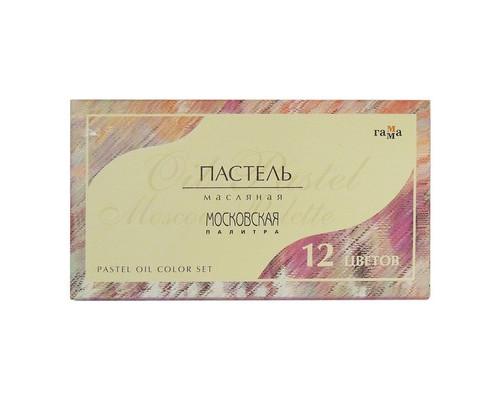 Пастель масляная Гамма Московская палитра 12 цв 0.60.K012.000
