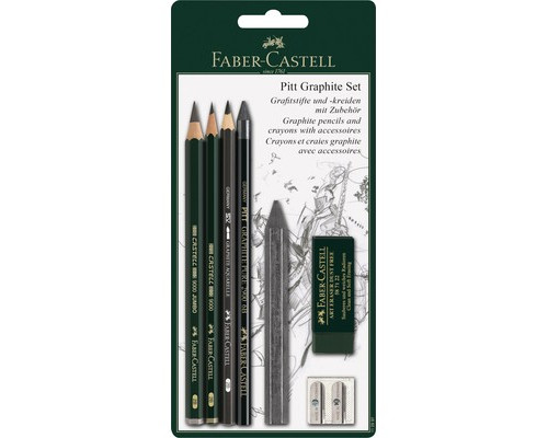 Набор Faber-Castell PITT графитный 6 пред 112997