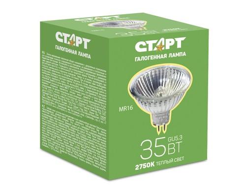 Электрическая лампа СТАРТ галог.зеркал.35W GU5.3 12V FMW