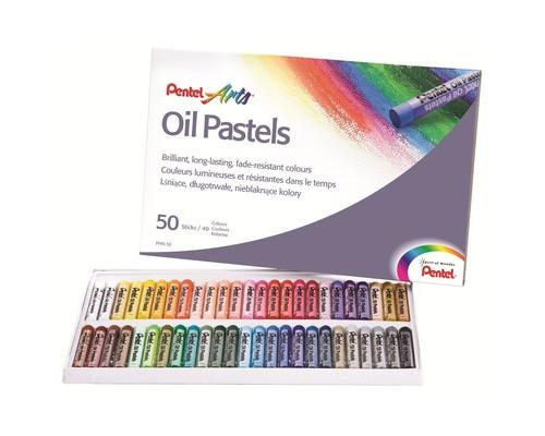Пастель Pentel масляная 50цв PHN4-50