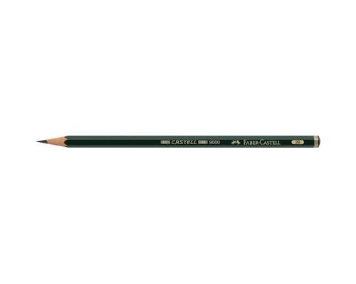 Карандаш чернографитный 2B Faber-Castell 119002