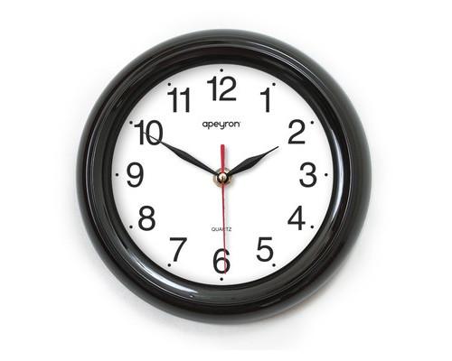 Часы Apeyron PL 98.9, круг., плавн. ход, черн