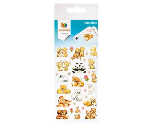 Наклейки декоративная бумажная Животные 1 70х160