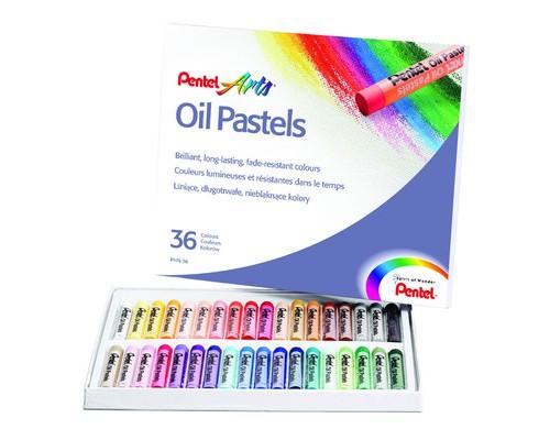 Пастель Pentel 36цв масляная PHN4-36