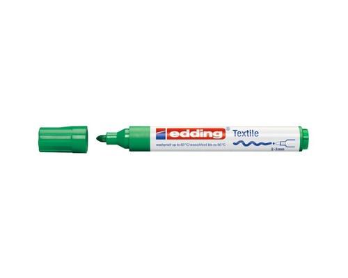 Маркер для текстиля Edding E-4500, зеленый_004