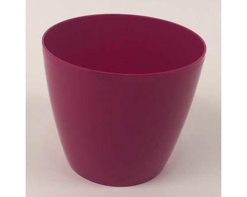 Горшок для цветов б/подд.d15,5см 1,8л малиновый Бл ГМЛ 5007