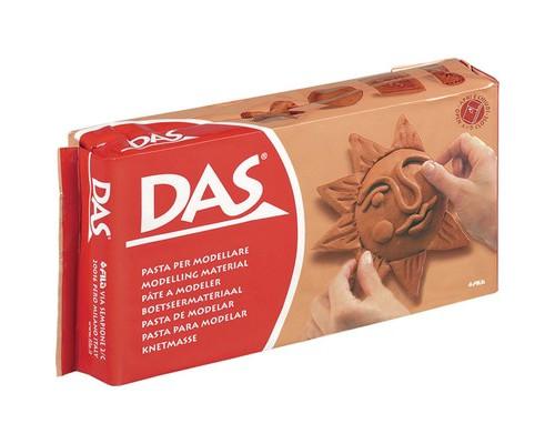 Глина полимерная DAS паста для моделирования, 500 гр., терракотовая, 387100