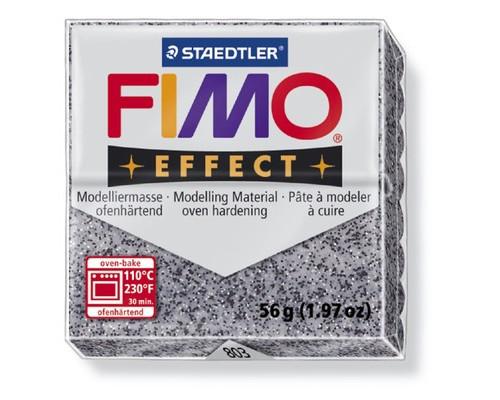 Глина полимерная гранит,56гр,запек в печке,FIMO,effect,8020-803