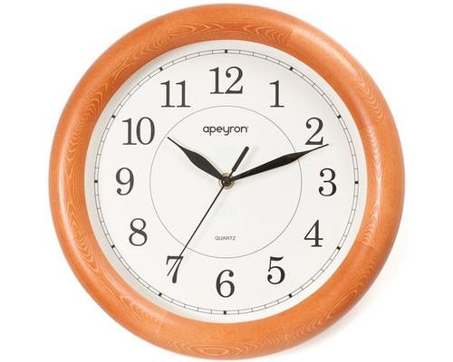 Часы Apeyron WD 01.001, орех, дерево, плавн. ход, круг