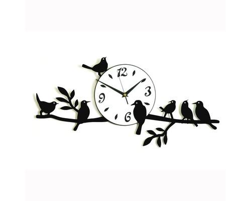 Часы Птицы на ветвях (10106) 52х26 см