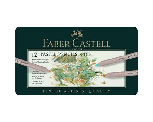 Набор карандашей 12цв мет короб Faber-Castell Pitt 112112
