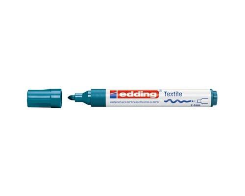 Маркер для текстиля Edding E-4500, темно синий_033
