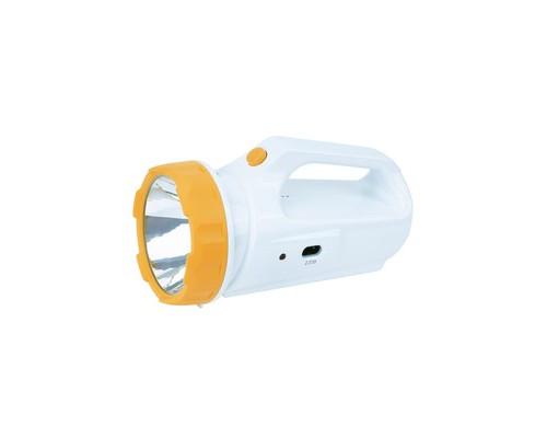 Фонарь светодиодный КОСМОСAccu678SLED с солн. панелью 3Вт LED, 4В