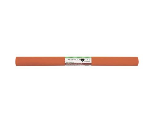 Бумага для творчества креповая,50х250см,32г/м2,оранжевая,CR25020