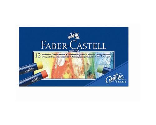 Пастель масляная 12цв Faber-Castell Studio Quality 127012