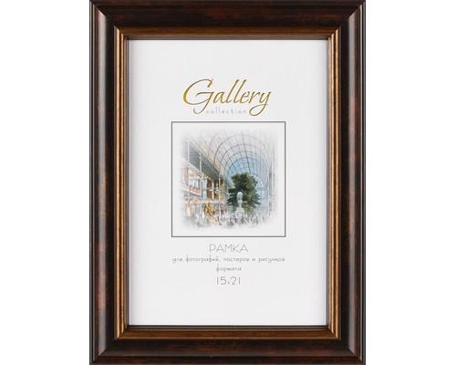 Фоторамка Gallery 15х21 649192-6 (12) черный с патиной+бронза